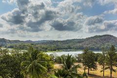 Chagres River in Panama Stock Photography