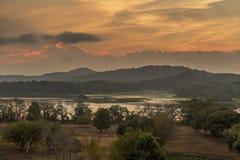 Chagres River at Sunrise - Panama Stock Photos