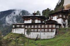 Chagri Meditation Center above Thimphu Royalty Free Stock Photos