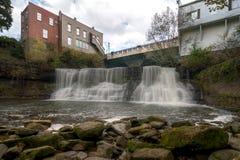 Chagrin Falls Ohio images libres de droits