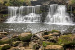 Chagrin Falls Ohio stock photography