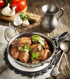 Chahohbili. Georgian chicken ragout. Royalty Free Stock Photo