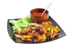 Chahohbili. O prato com cordeiro Imagem de Stock