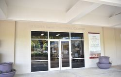 Chahta Immi Cultureel Centrum, Choctaw, de Mississippi stock afbeeldingen