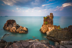 Chai Chet Cape close to Klong Prao Beach, Koh Chang, Trat, Thail Stock Image