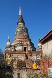 chai khon mong wat Yai Fotografia Royalty Free
