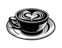 Chai Latte Vector Fotos de archivo