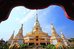 Chai-Mong-Kol pagoda Royalty Free Stock Photos