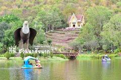 Chai Nat Tailândia 26 de dezembro de 2019 vê que os pássaros em Chai NAT Bird Park são um lugar da província do chainat A gaiola  fotos de stock