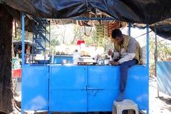Chai Stand India Stockfotografie