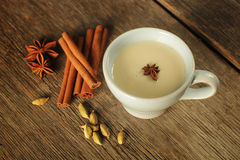 Chai tea Stock Photo