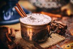 Chai Tea Latte image libre de droits