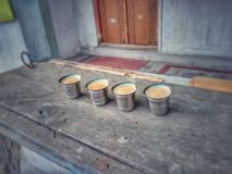 Chai Time royalty free stock photos