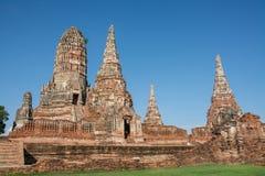 Chai Wattanaram Temple, Ayuddhaya, Thailand Stock Image