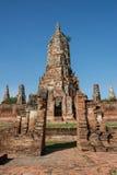 Chai Wattanaram Temple, Ayuddhaya, Thailand Royalty Free Stock Images