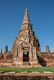 Chai Wattanaram Temple, Ayuddhaya, Thailand Stock Photos