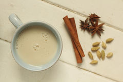 Chai on white Stock Images