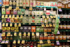Chai y té orgánicos imagen de archivo libre de regalías