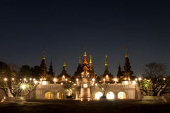 CHAIANG MAI, THAILAND - JANUARY 26, 2014 : The luxury resort : M Royalty Free Stock Images