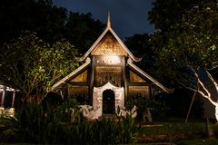 CHAIANG MAI, THAILAND - 20. SEPTEMBER 2014: Das Luxus-Resort, Mandarin Oriental Dhara Dhevi Lizenzfreie Stockbilder