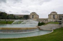 chaillot de palais france paris Berömt kultur Royaltyfri Bild