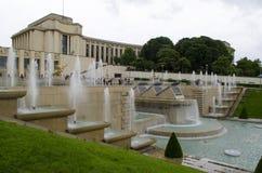 chaillot de palais france paris Berömt kultur Arkivbild