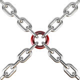 Chain. Stock Photo