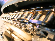 Chain. Engine car chain Royalty Free Stock Image
