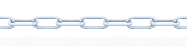 Chain stock illustration