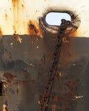 Chain. Rusty chain royalty free stock photos