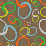 Chain abstract seamless Stock Photo