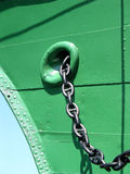 Chain of the anchor Royalty Free Stock Images