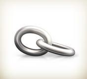 Chain anknyter, symbolen Fotografering för Bildbyråer