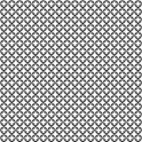 Chain armor black circle elements seamless pattern Stock Image
