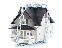 Chain around the home Stock Photography