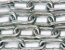 Chain background Stock Images
