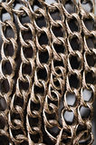 Chain background Stock Image