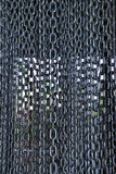 Chain background texture. Cage Metal chain dense background texture Stock Images