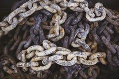 Chain bakgrund Royaltyfri Fotografi