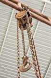 Chain block Royaltyfri Bild