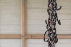 Chain block för stål Arkivbild