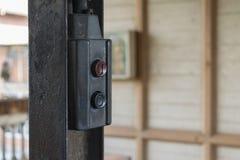 Chain block för stål (strömbrytarekontroll) Royaltyfri Bild
