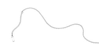 Chain. Bracelet,Necklace chain with extension.  Material Stainless Steel 316L Stock Photos