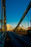 Chain Bridge Royalty Free Stock Images