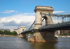 Chain Bridge Stock Image