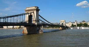 Chain Bridge Royalty Free Stock Image