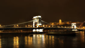 Chain Bridge Stock Images