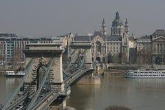 Chain Bridge. Budapest's Chain Bridge Stock Image