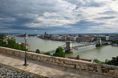 Chain Bridge, Budapest Royalty Free Stock Image