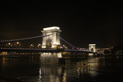 Chain Bridge Budapest Royalty Free Stock Photography